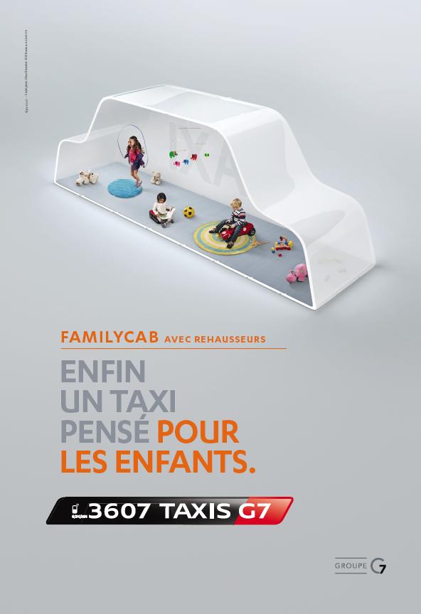 taxis g7 installe une bulle de s r nit dans paris avec la nouvelle campagne sign e w atjust. Black Bedroom Furniture Sets. Home Design Ideas