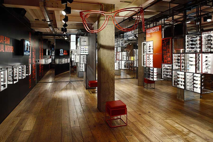 7d9c939bbd9 Biggest Ray Ban Shop In London Located