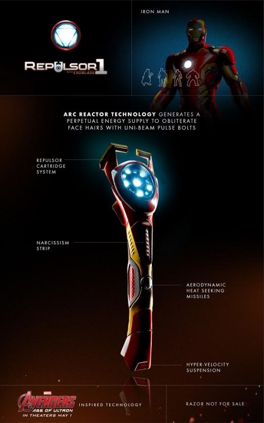 1 gillette avengers
