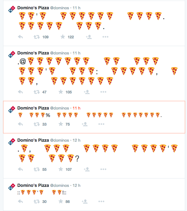 Domino's Pizza-emoji-wcie