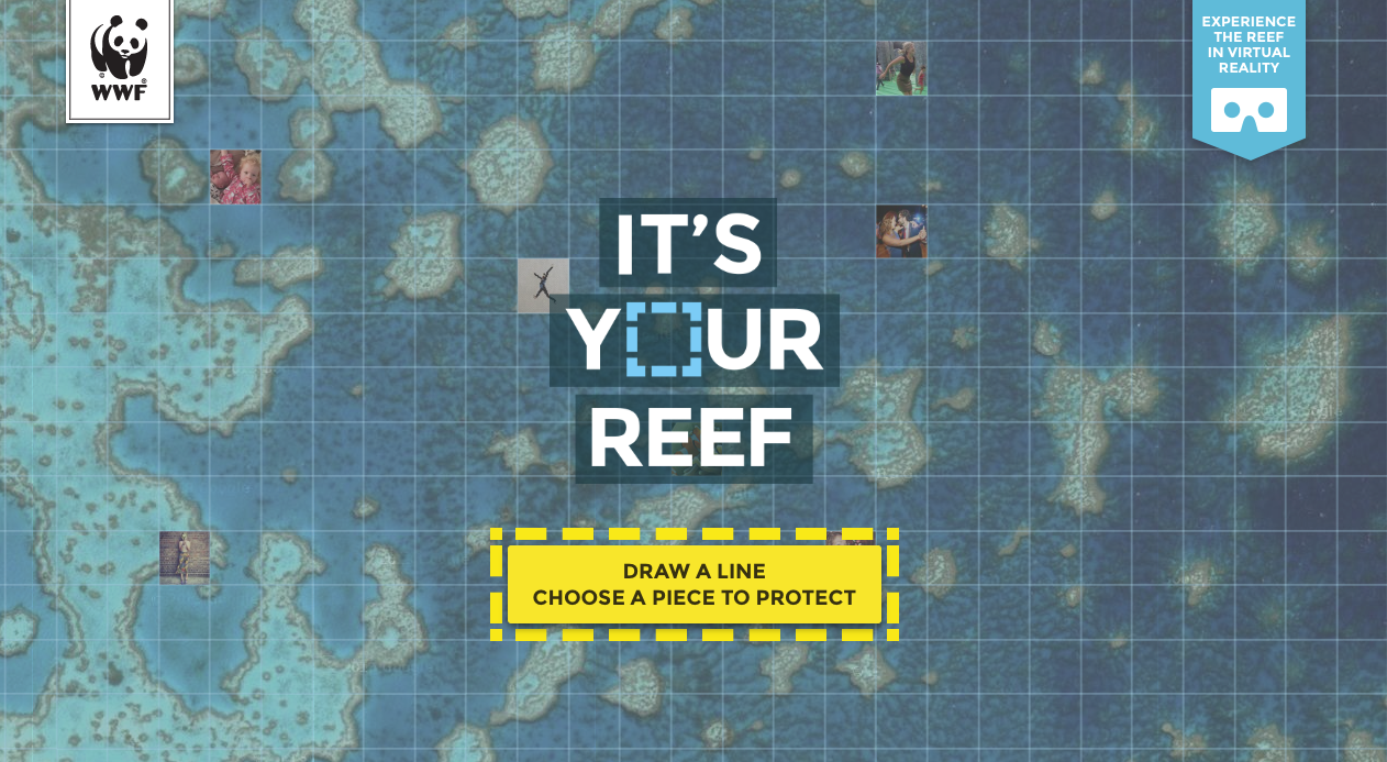 WWF & Google It's Your Reef