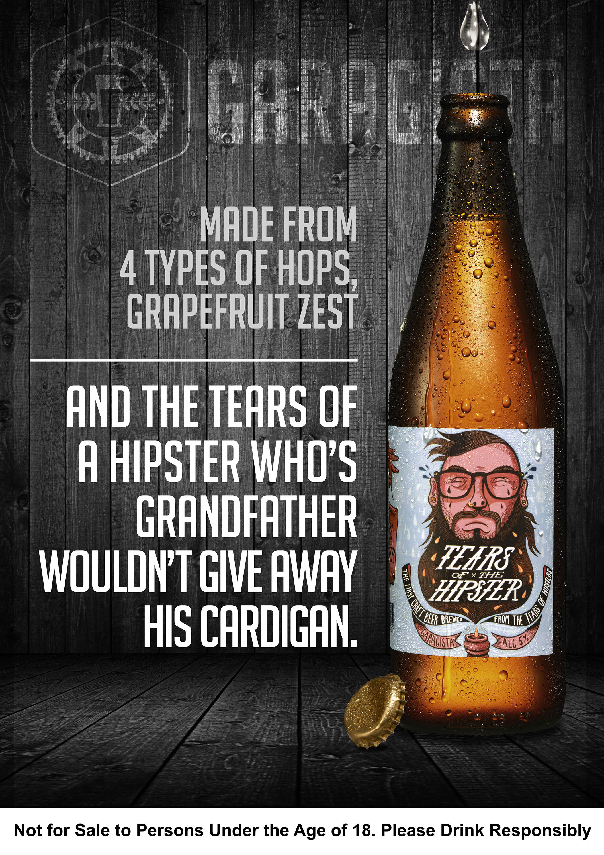 Garagista tears of the hipster