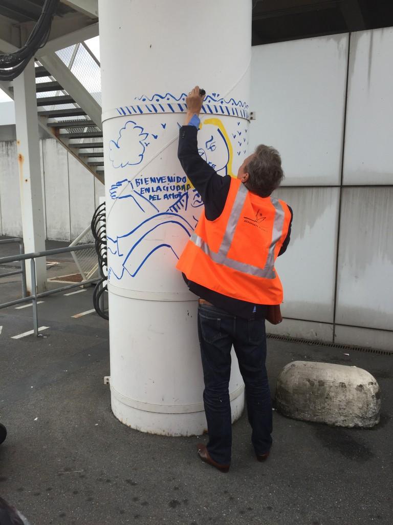Jean-Charles de Castelbajac - aéroports de paris