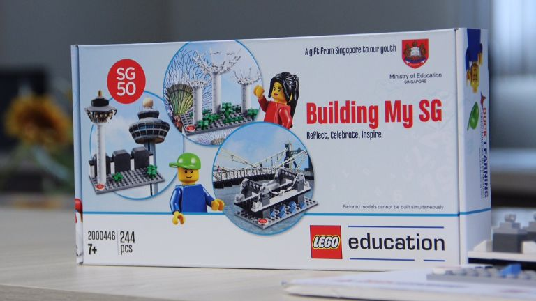 Singapore 50 Lego