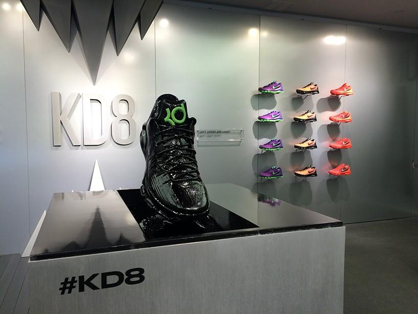 Nike KD8  ferrofluid experience