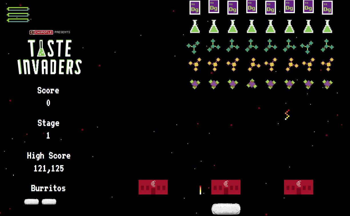 Chipotle Taste Invaders