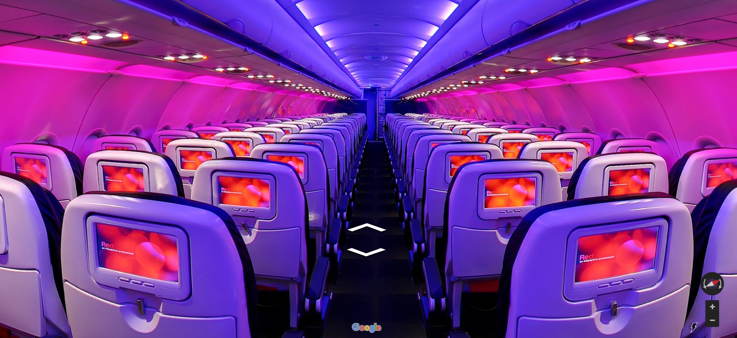 Virgin America-google street view-wcie