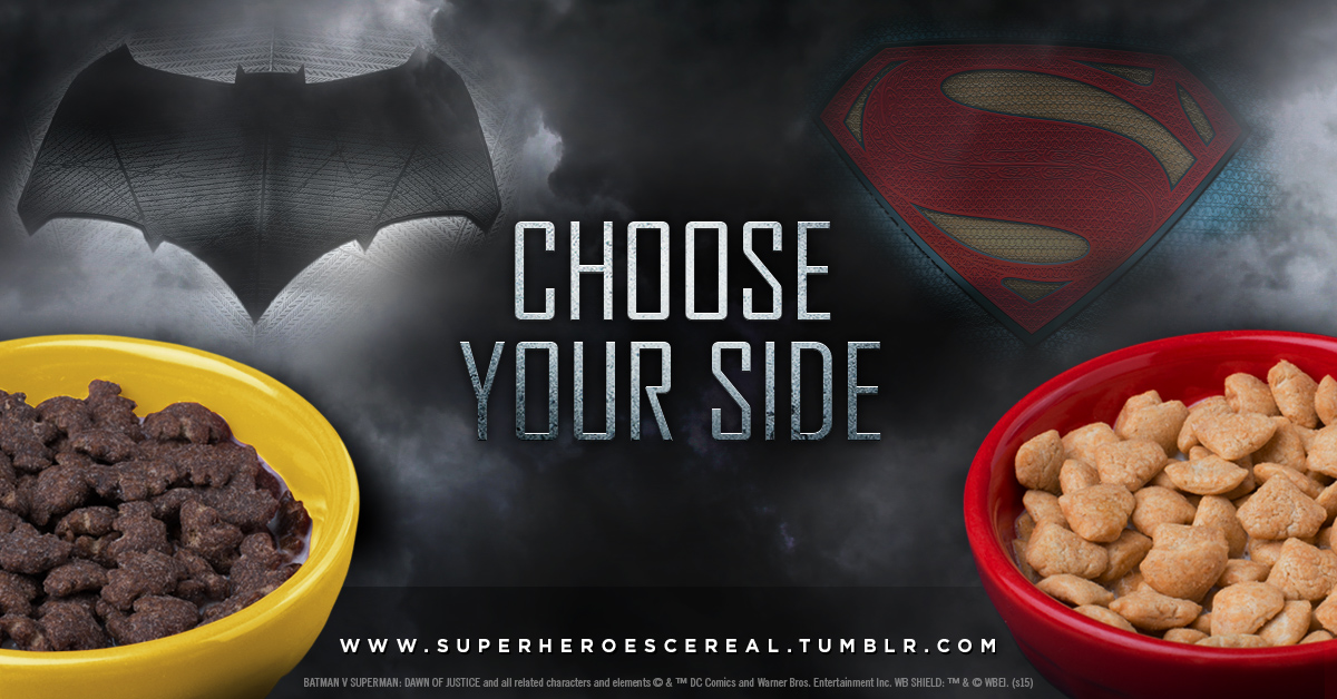 General Mills - Cérales Batman VS Superman - WCIE1