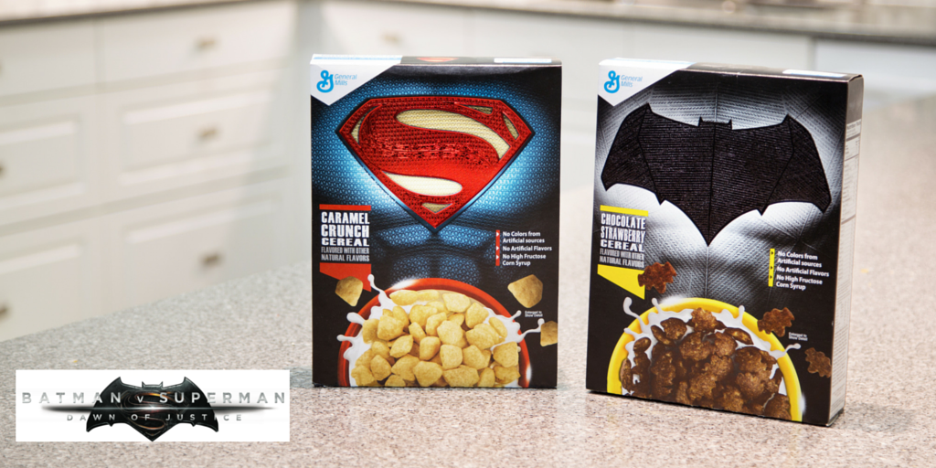 General Mills - Cérales Batman VS Superman - WCIE2