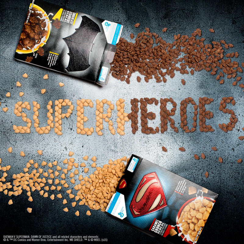 General Mills - Cérales Batman VS Superman - WCIE4