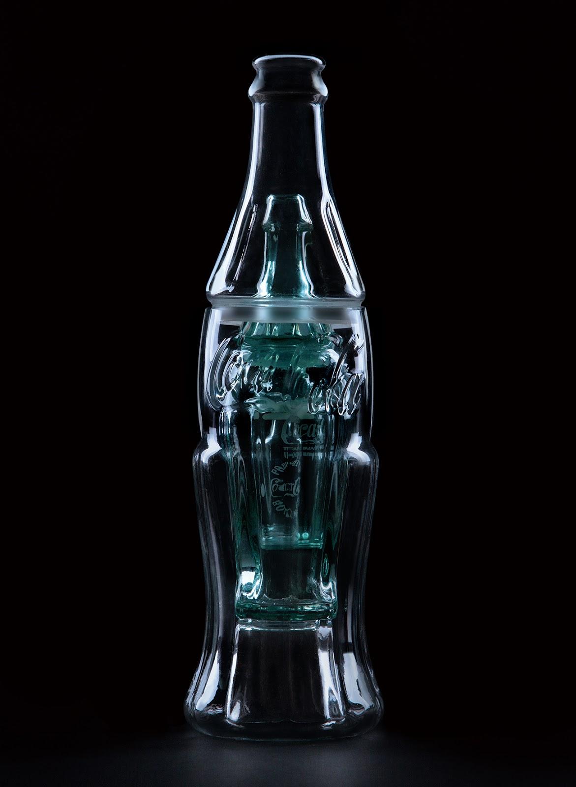 Coca-cola-100 years contour bottle-wcie